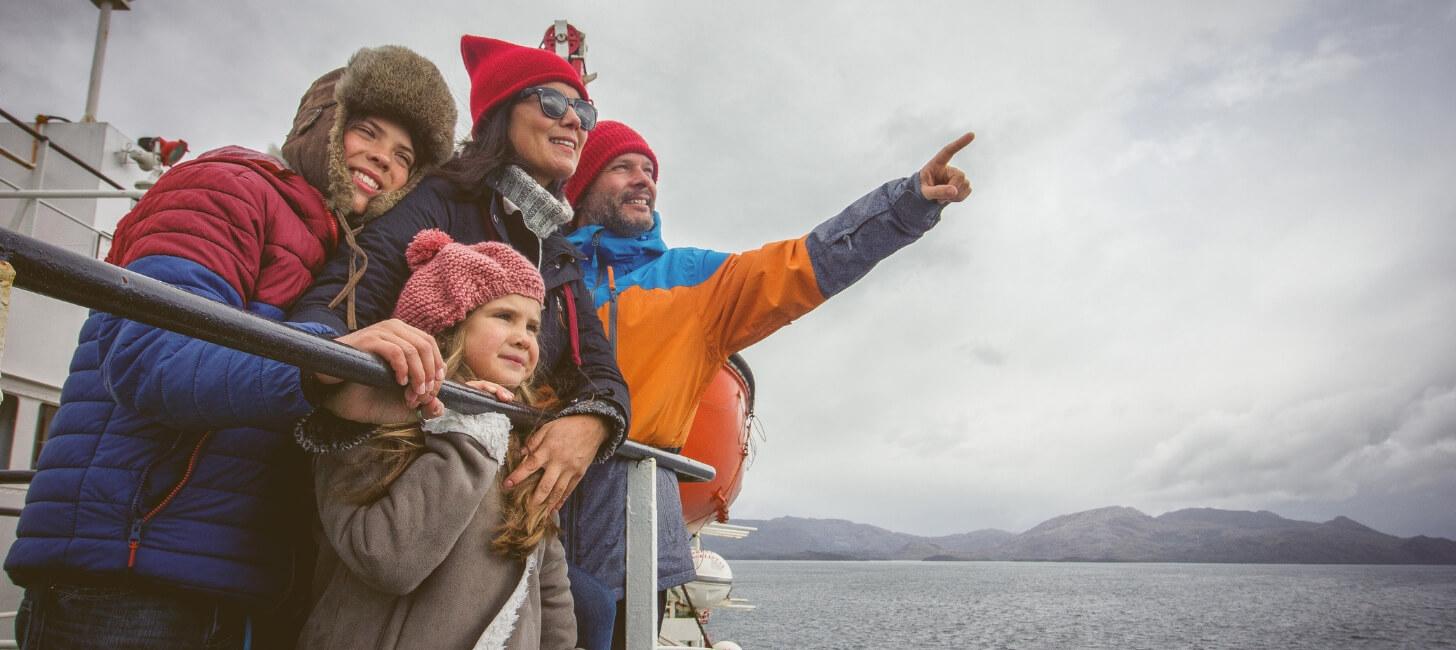 ¿Cómo es viajar a la Patagonia en ferry?