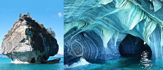 Cavernas de mármol