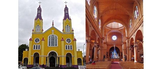 Las iglesias que quedan han mantenido el paso de los años
