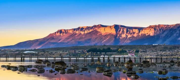Sigue tu rutina de yoga mientras viajas por la Patagonia Chilena