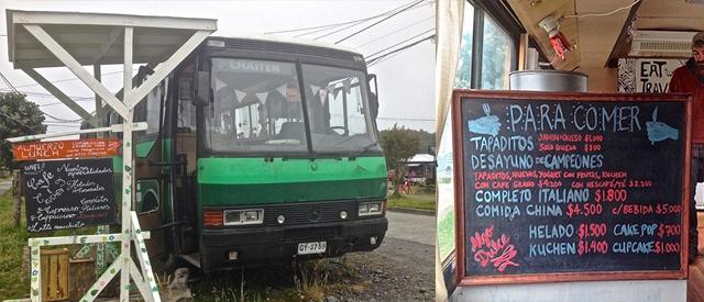 Food trucks de la Patagonia  dónde comer