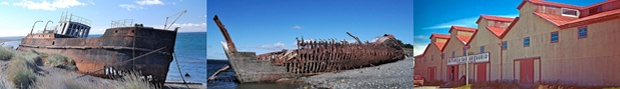 Shipwrek of Local vessels that sailed the Strait of Magellan