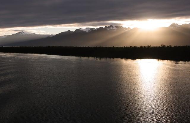 Amanecer y Atardecer en Patagonia Chile