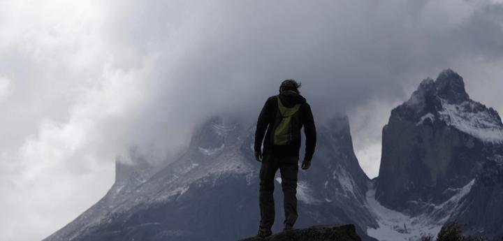 Viajero solo en Patagonia