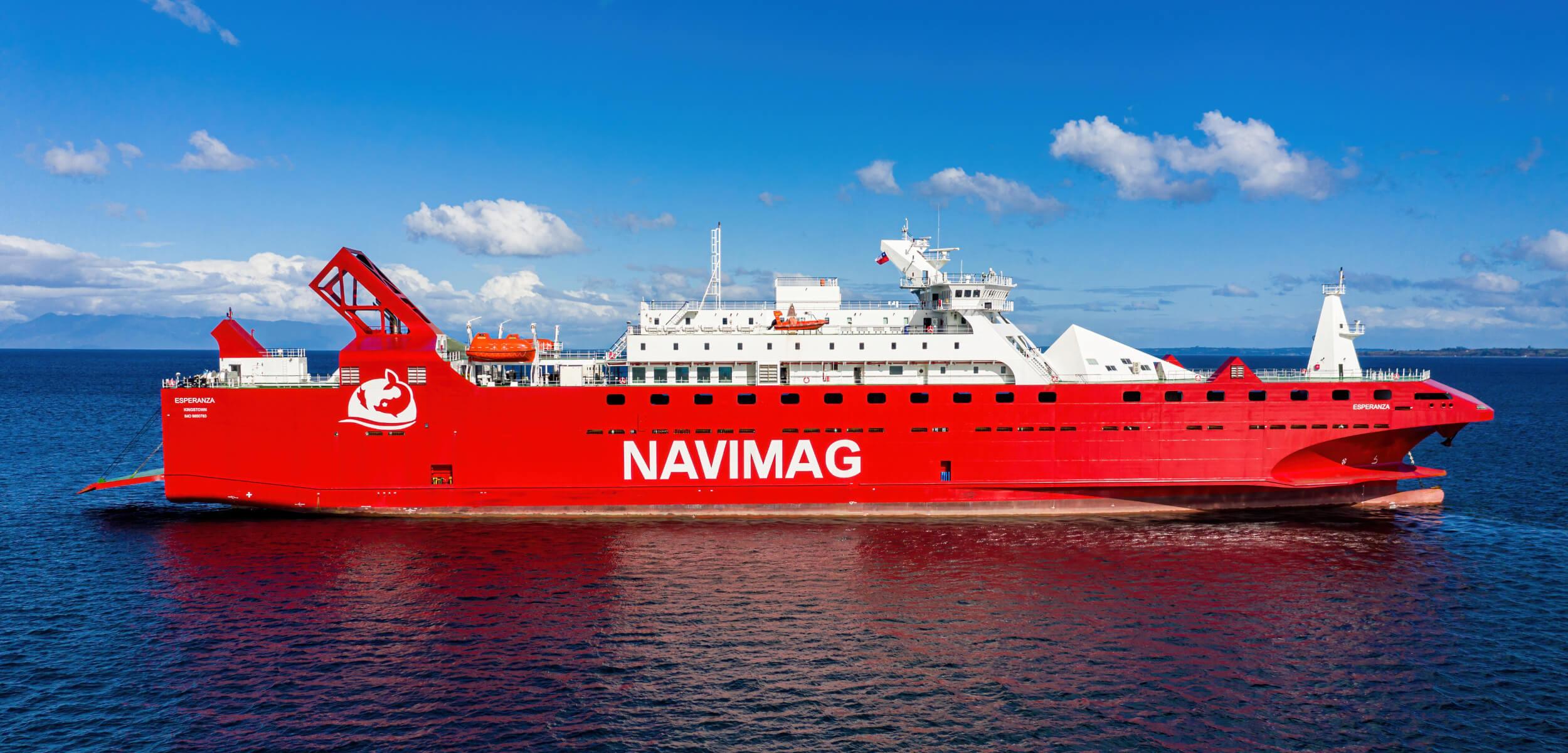 3 novedades del nuevo ferry de la Patagonia