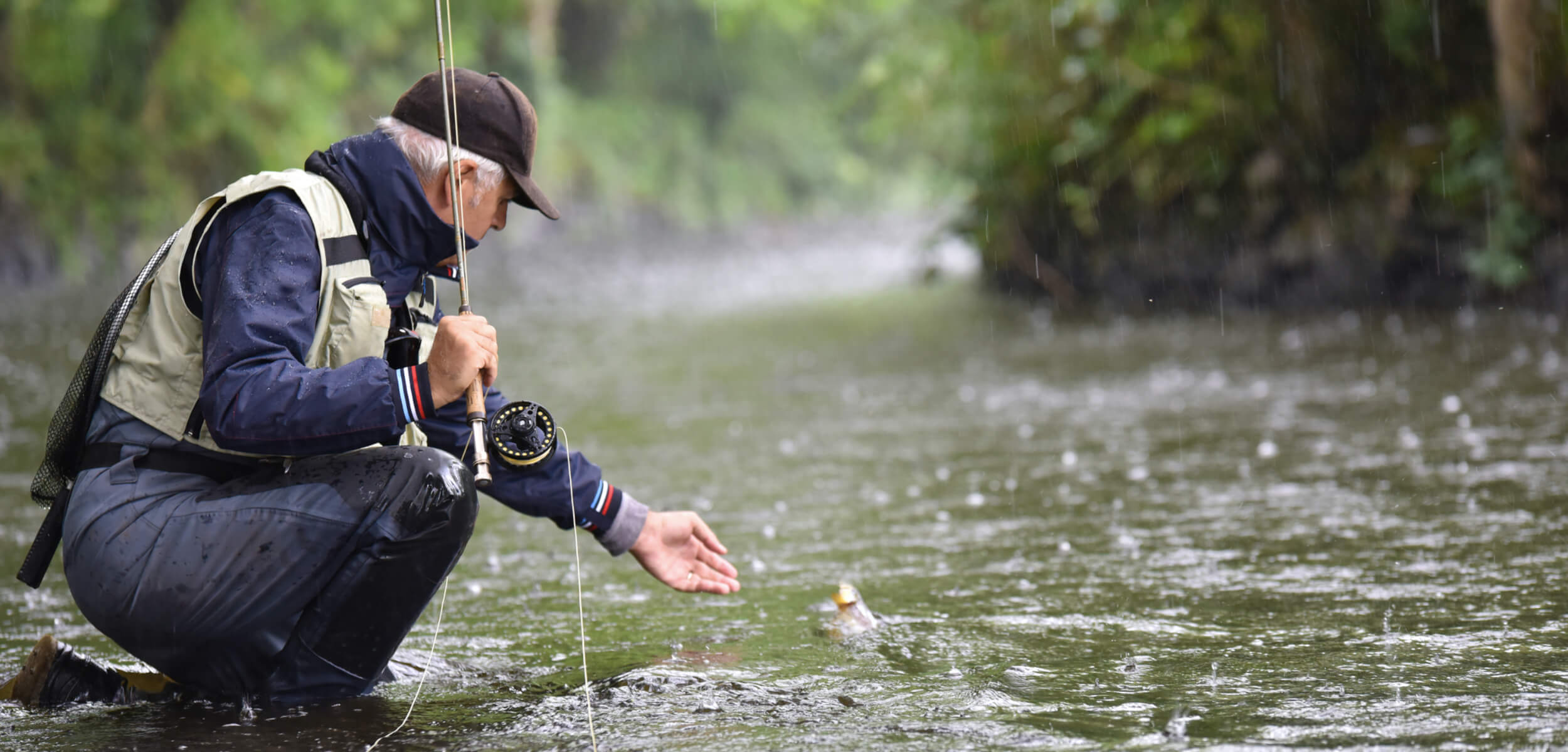 4 lugares para practicar pesca con mosca en la Patagonia