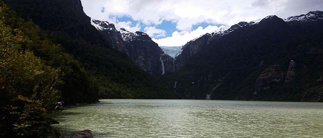 Trail to Hanging Glacier (Ventisquero Colgante) in National Park Queulat