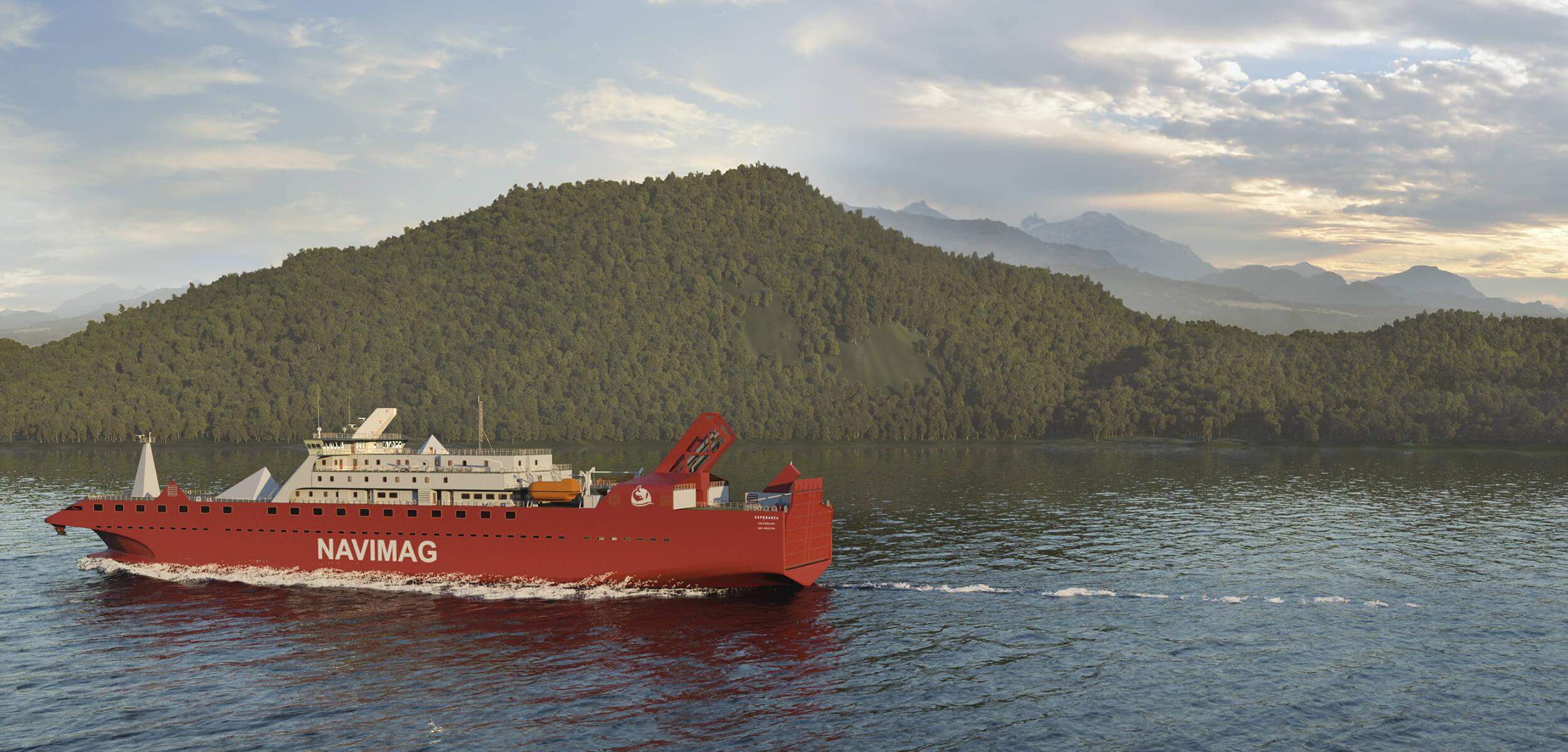 Descubre las novedades de nuestro nuevo ferry Esperanza para la próxima temporada