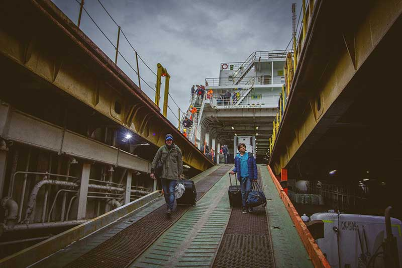 Booking Ferries in Patagonia